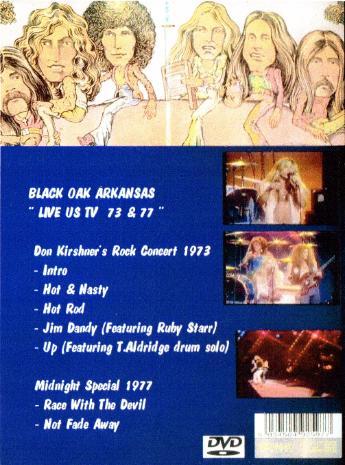 1973 1977 Black Oak Arkansas Dvd